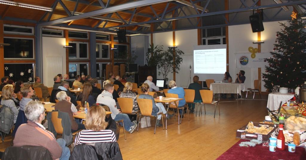 1. Rüdersdorfer Umweltdialog in der Aula der Grundschule Hennickendorf am 08.12.2015, Foto: A. Gering, BI GLS